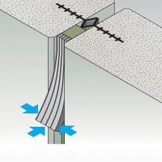 Заделка швов между панелями стен